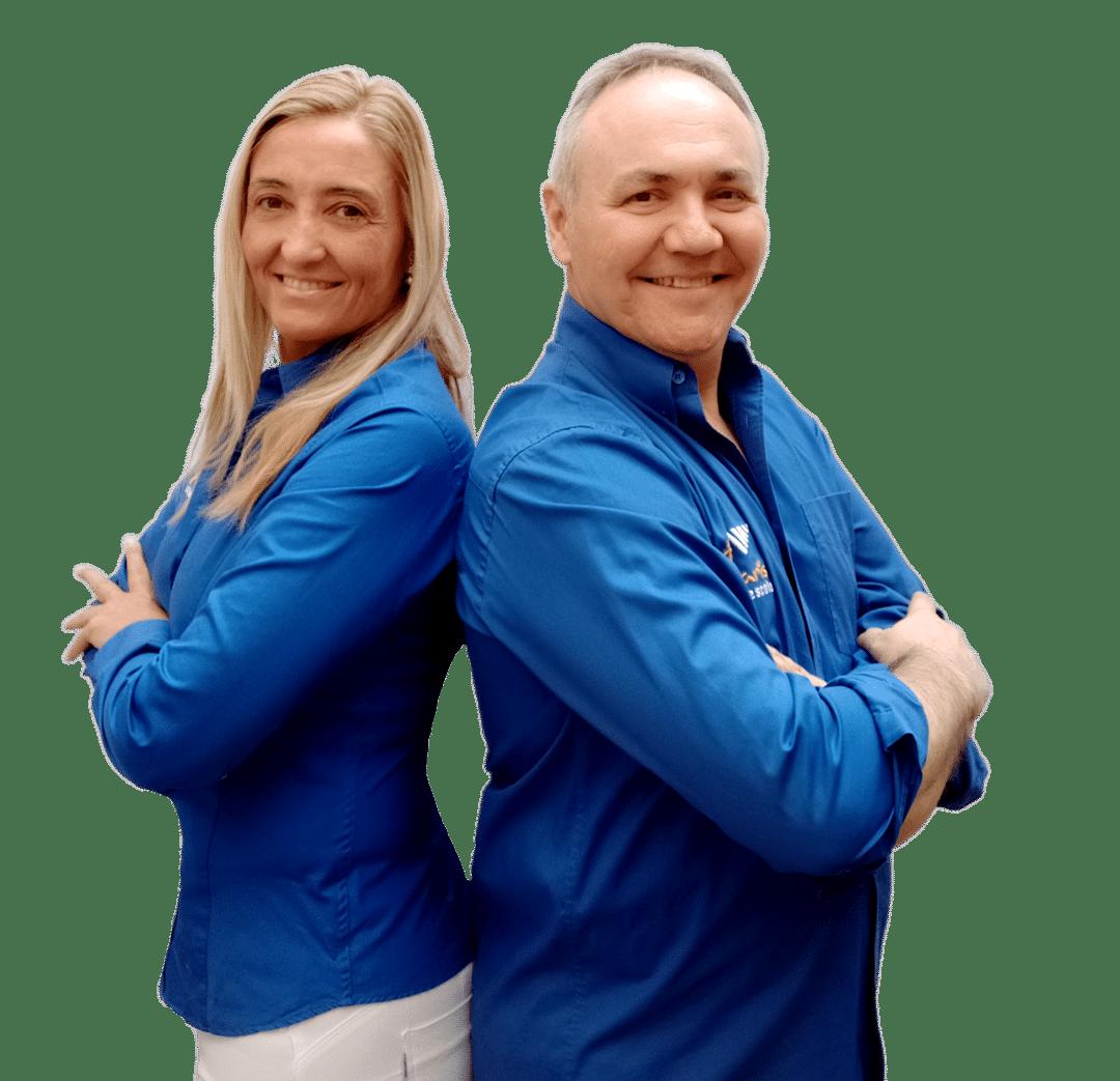 Xavi i Cèlia - Directores y Formadores de la Autoescuela PARIS.
